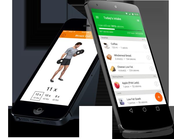 Onze PRO app. Gratis in de BMFITT programma's. 1