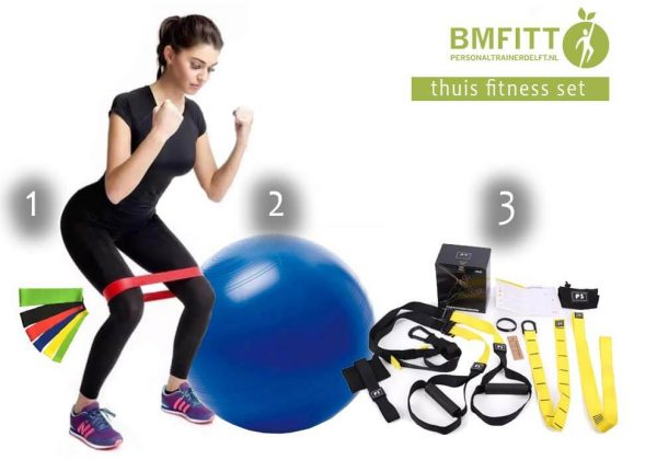 Personal Training Traject met GRATIS Thuis Fitness Set 1
