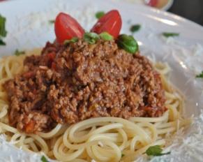 Gezonde spaghetti bolognesesaus