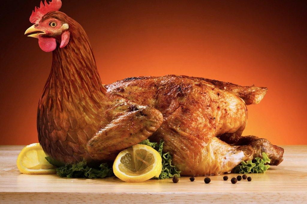 kip in vijfkruidenmarinade